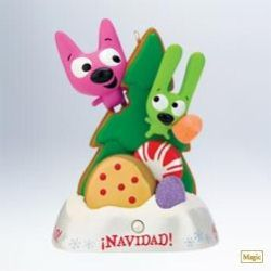 2011 Es Navidad - Hoops And Yoyo Hallmark Ornament