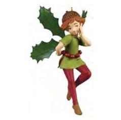 2011 Fairy Messengers Limited - Holly Hallmark Ornament