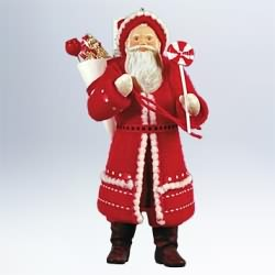 2011 Father Christmas #8 Hallmark Ornament