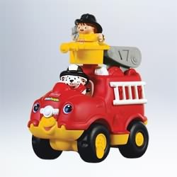 2011 Fisher Price - Little People Fire Truck Hallmark Ornament