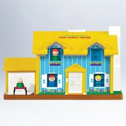 2011 Fisher Price - Play Family House Hallmark Ornament