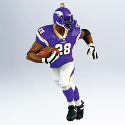 2011 Football #17 - Adrian Peterson Hallmark Ornament