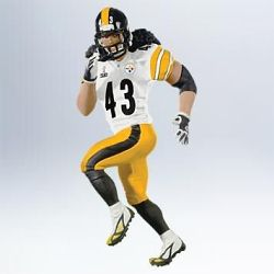 2011 Football - Troy Polamalu Hallmark Ornament