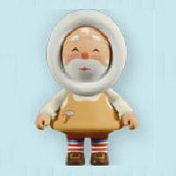 2011 Frosty Friends - Toymaker Santa Hallmark Ornament