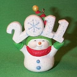 2011 Frosty Fun Decade #2 - Associate Gift - MIB Hallmark Ornament