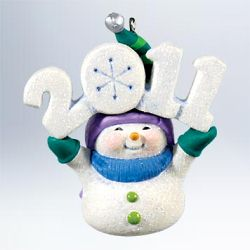 2011 Frosty Fun Decade #2 Hallmark Ornament