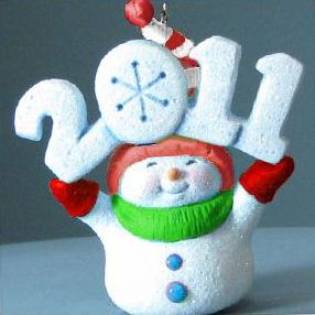 2011 Frosty Fun Decade - Colorway - Event Hallmark Ornament