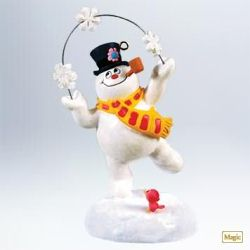 2011 Frosty The Snowman - A Merry Magical Christmas Hallmark Ornament