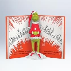2011 Grinch - A Shocking Surprise Hallmark Ornament
