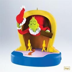 2011 Grinch - Mean Mr Grinch Hallmark Ornament
