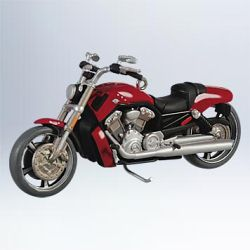2011 Harley Davidson #13 - 2010 Vrsc V-rod Muscle Hallmark Ornament
