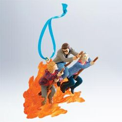 2011 Harry Potter - Fleeing The Fiendfyre Hallmark Ornament