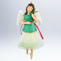 2011 Holiday Angels #6f - Eternal Love Hallmark Ornament