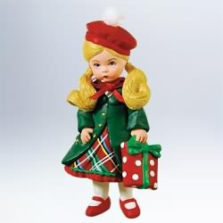 2011 Madame Alexander #16 - Yuletide Shopper Hallmark Ornament