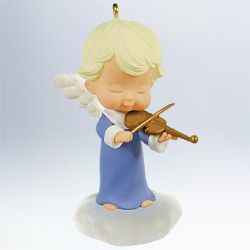 2011 Mary's Angel #24 - Viola Hallmark Ornament