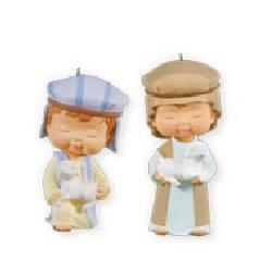 2011 Mary's Angel Nativity - Seeking The King Hallmark Ornament