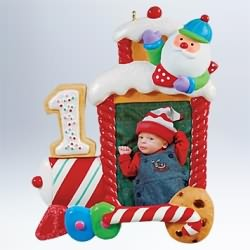 2011 My First Christmas - Train Hallmark Ornament