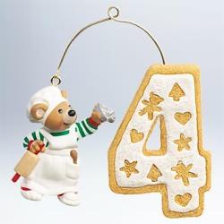 2011 My Fourth Christmas - Age Hallmark Ornament