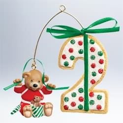 2011 My Second Christmas - Age Hallmark Ornament