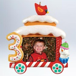2011 My Third Christmas - Train Hallmark Ornament