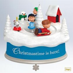 2011 Peanuts - Christmastime Is Here! Hallmark Ornament