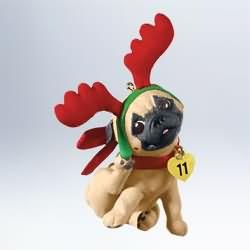 2011 Puppy Love #21 Hallmark Ornament