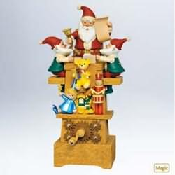 2011 Santa's Jolly Workshop Hallmark Ornament