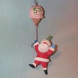 2011 Santa's Sweet Ride - Five Sweet Years - Colorway Hallmark Ornament