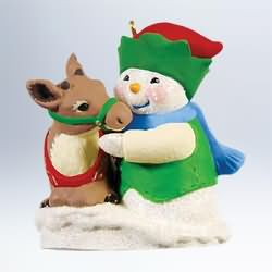 2011 Snow Buddies #14 - Reindeer Hallmark Ornament