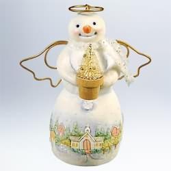 2011 Snowtop Lodge #7 - Ann G Halo Hallmark Ornament