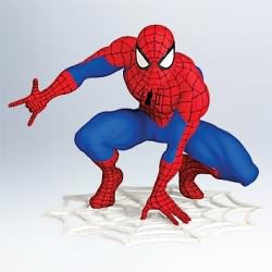 2011 Spiderman Hallmark Ornament