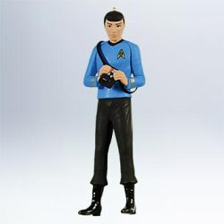 2011 Star Trek #2 - Spock Hallmark Ornament