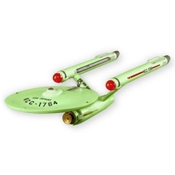 2011 Star Trek - Us Defiant Nycc - Glow Hallmark Ornament