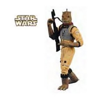 2011 Star Wars - Bossk Hallmark Ornament