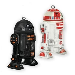 2011 Star Wars - R2-q5 And R2-a3 Nycc Hallmark Ornament