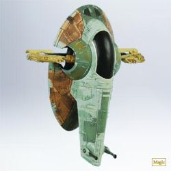 2011 Star Wars - Slave I Hallmark Ornament