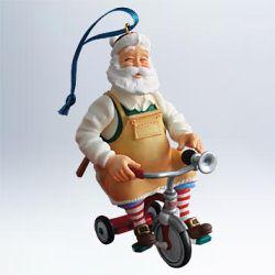 2011 Toymaker Santa #12 Hallmark Ornament