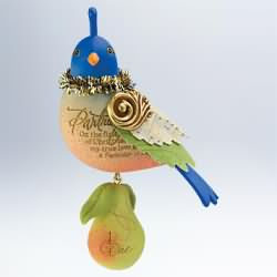 2011 Twelve Days Of Christmas #1 - Partridge In A Pear Tree Hallmark Ornament