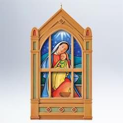 2011 Windows Of Faith #2 - Light Of Love Hallmark Ornament
