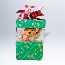 2011 Winnie The Pooh - A Big Present For Piglet Hallmark Ornament