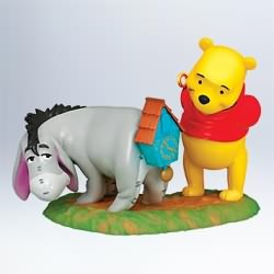2011 Winnie The Pooh  - A New Tail For Eeyore Hallmark Ornament