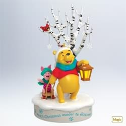 2011 Winnie The Pooh - Hello Snow Hallmark Ornament