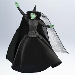 2011 Wizard Of Oz - Wicked Witch Of The West Hallmark Ornament