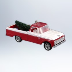 2012 All American Truck #18 -1966 Ford F-100 Hallmark Ornament