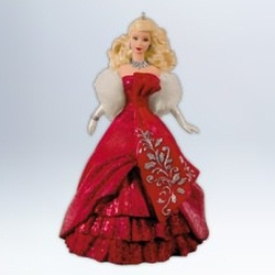 Barbies - Celebration Hallmark Ornaments