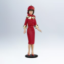 2012 Barbie - Debut #19f - Matinee Fashion Hallmark Ornament