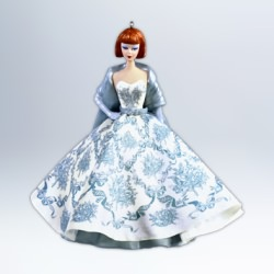 2012 Barbie - Provencale Barbie Doll Hallmark Ornament