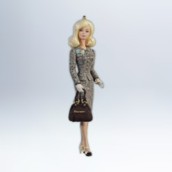 2012 Barbie - Tweed Indeed Hallmark Ornament