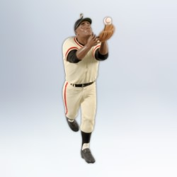 2012 Baseball - The Catch Willie Mays Hallmark Ornament