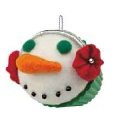 2012 Christmas Cupcake  - Seasons Treatings - Ltd Hallmark Ornament